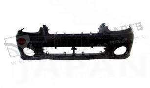 Voorbumper Multi met mistlamp gaten (grijs)